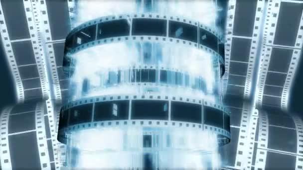 Film inspiroval pohybu pozadí s filmového svitku filmu