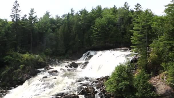cascade waterfall nature water