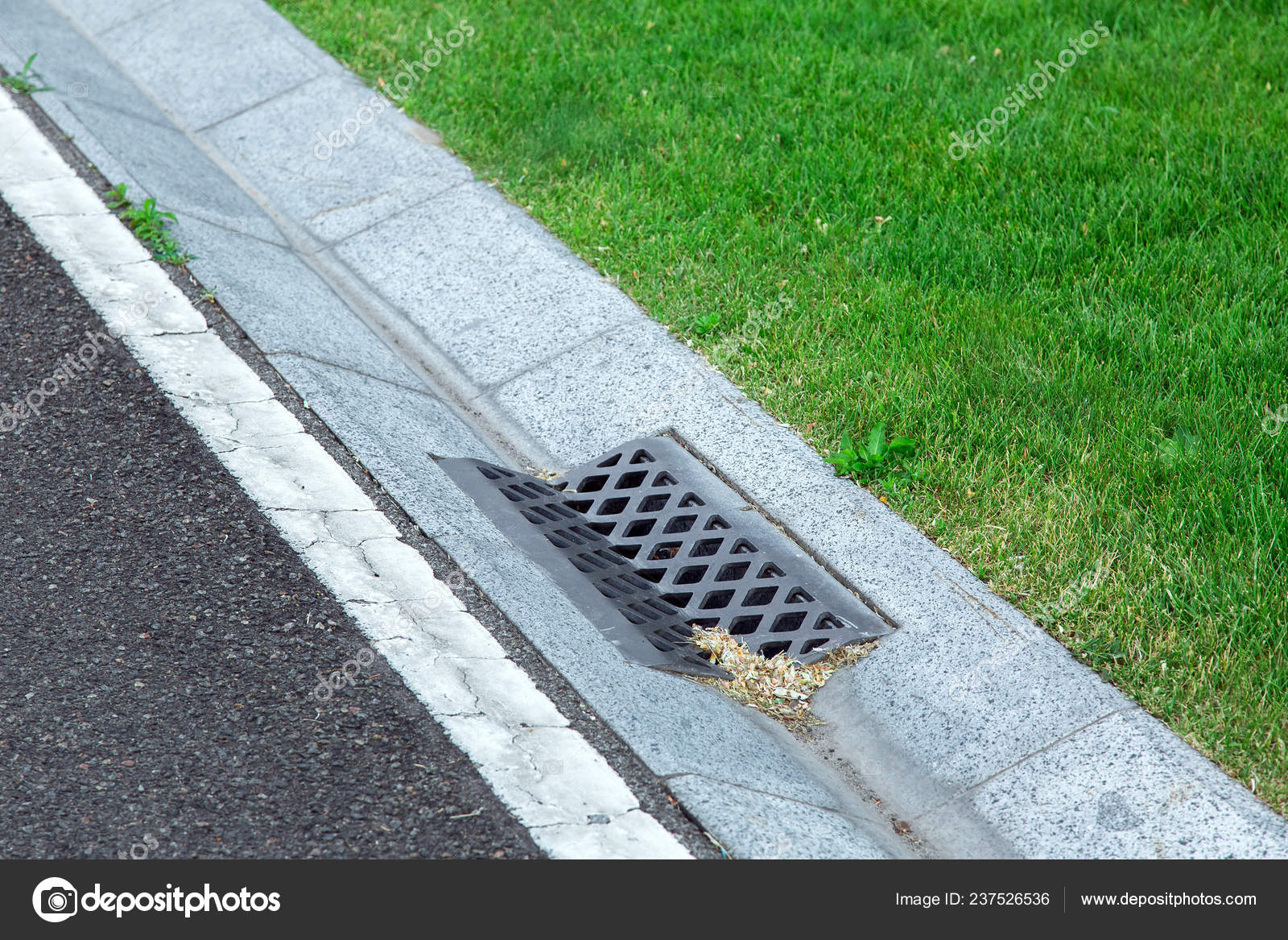 Pictures: stormwater | Street Gutter Stormwater Drainage