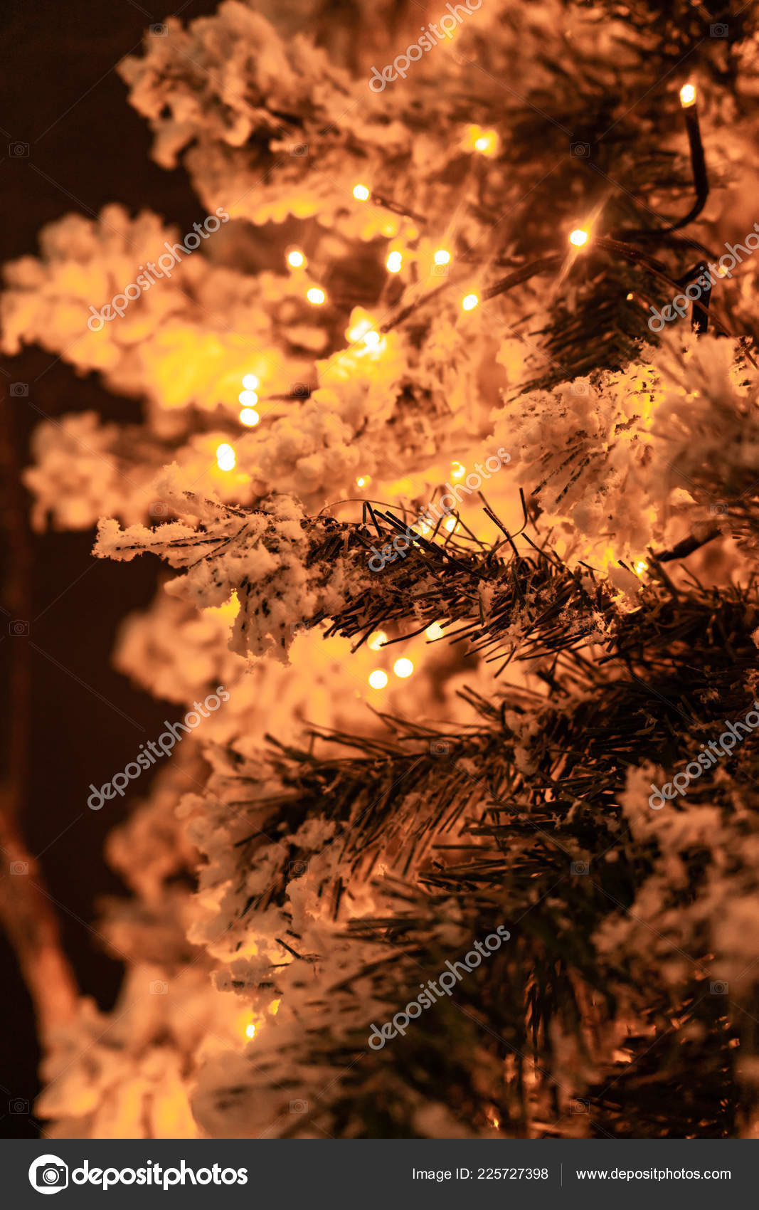 Pictures Decorated White Flocked Christmas Trees Festive