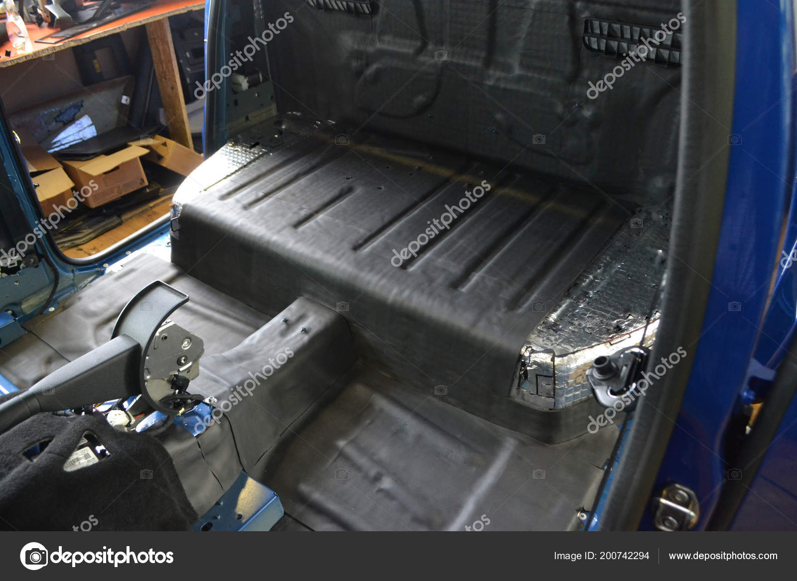 Tuning Car Pickup Truck Body Three Layers Noise Insulation Floor