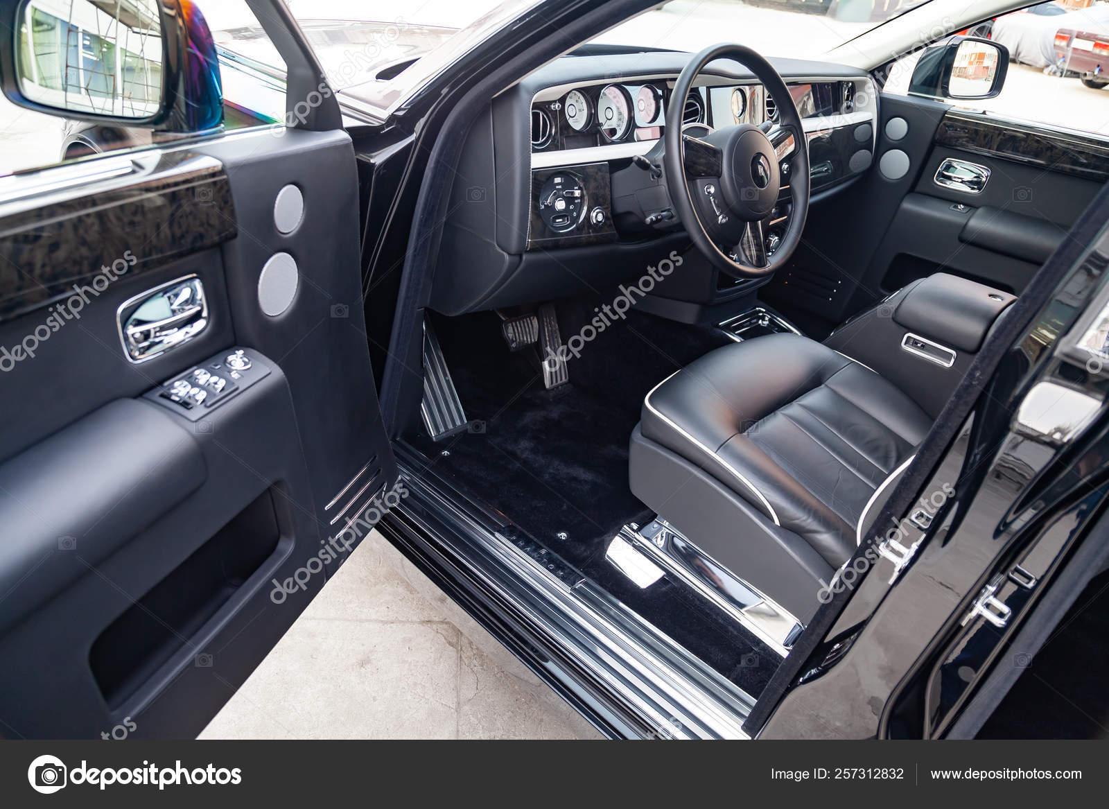 Interior View Of New A Very Expensive Rolls Royce Phantom Car A Stock Editorial Photo C Aleksandrkondratov 257312832