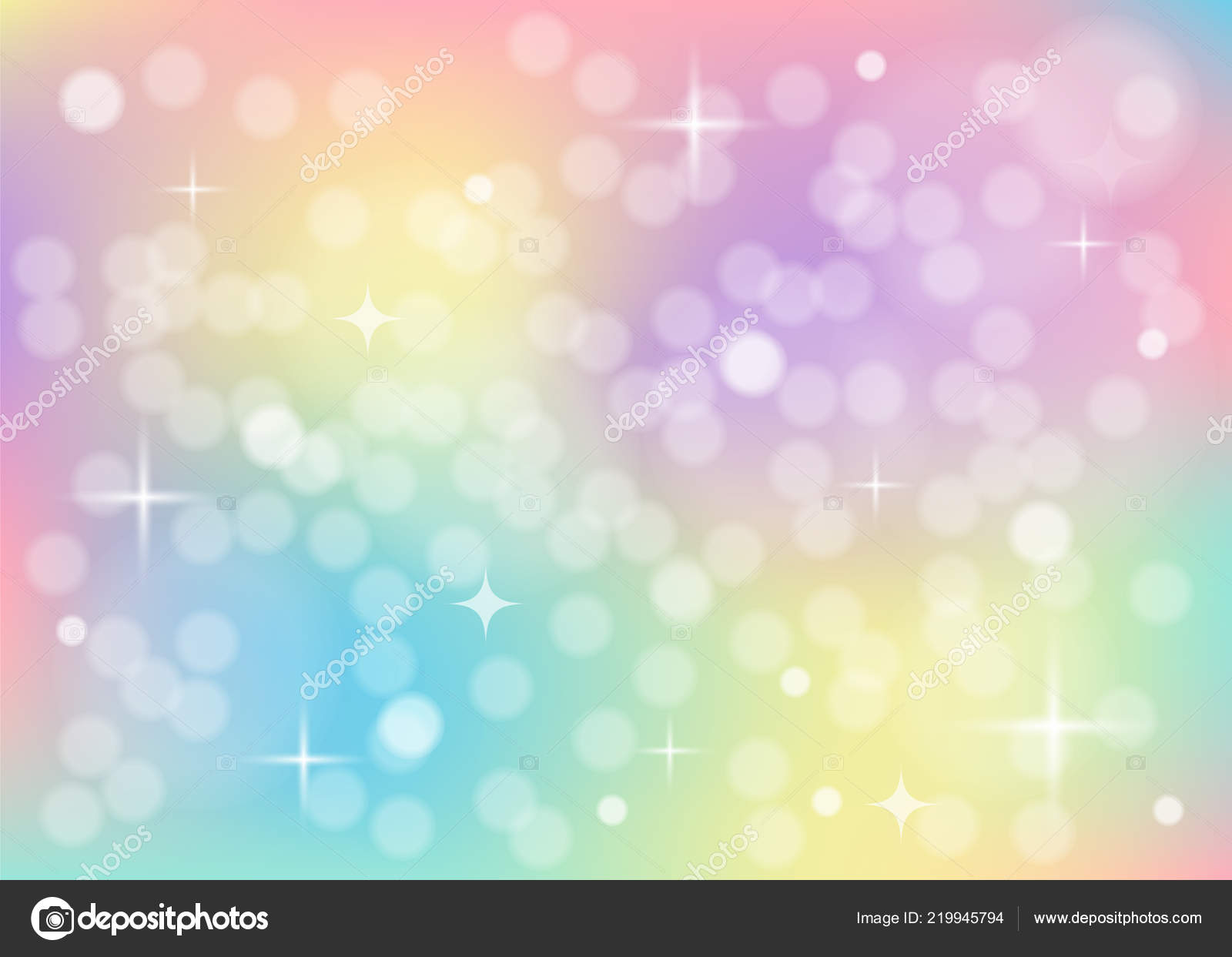 Galaxy Pastel Unicorn Wallpaper Rainbow Pastel Background