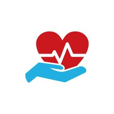 Heath Insurance Logo Icon Design