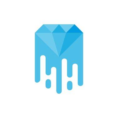 Diamond Paint Logo Icon Design