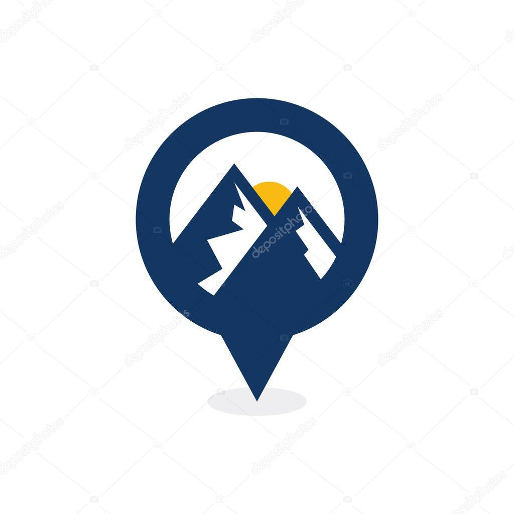 Mountain Point Logo Icon Design