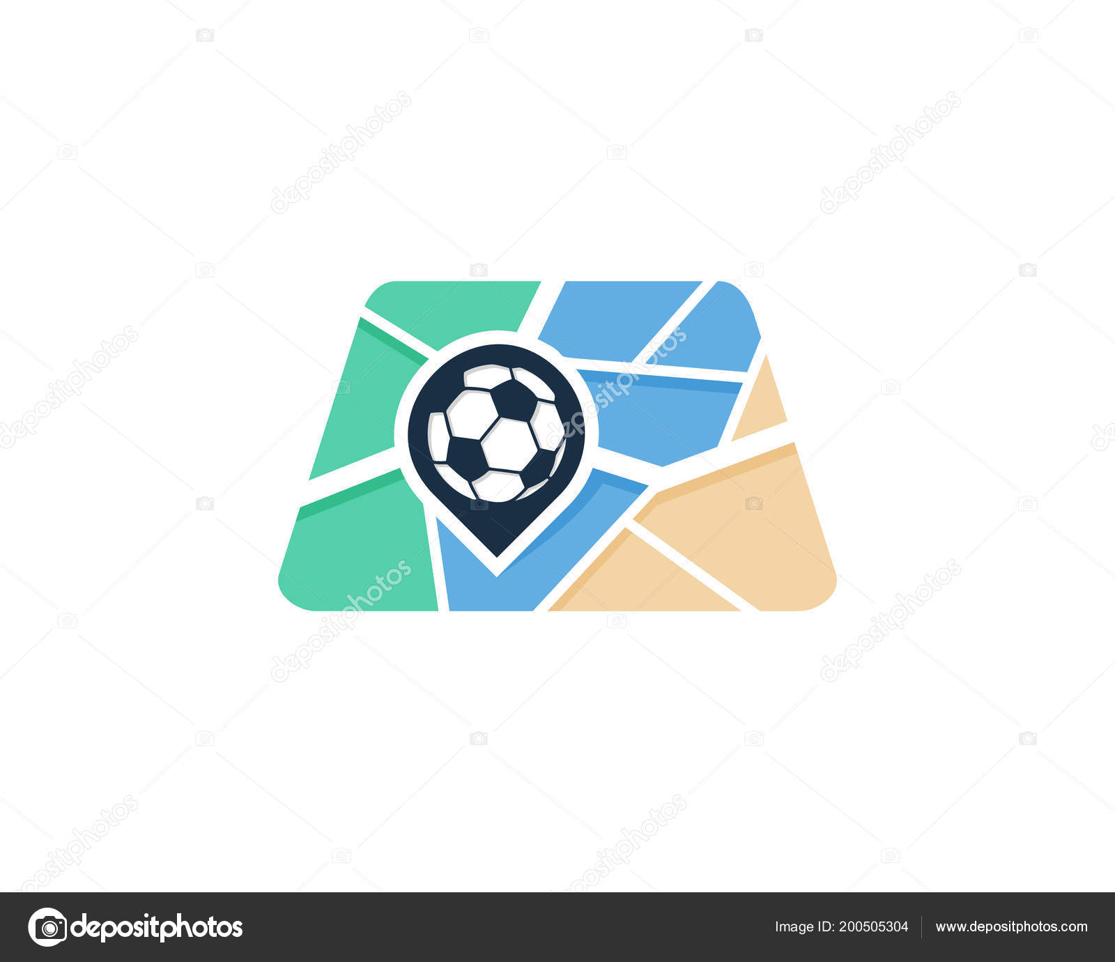 map logo icon design vector illustration stock vector putracetol