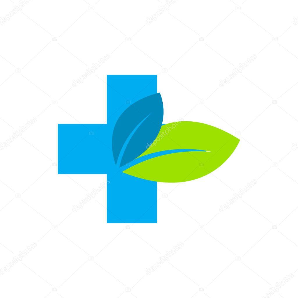 Green Medical Logo Icon Design