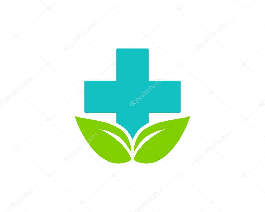 Nature Medicine Logo Icon Design