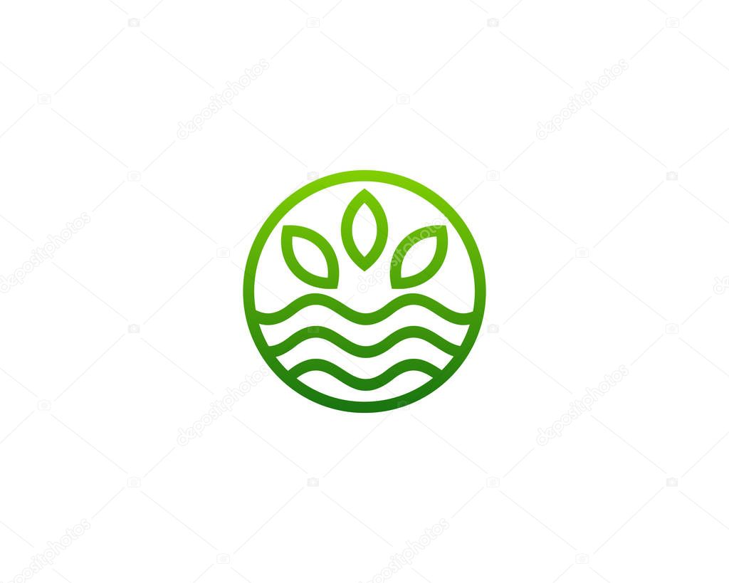 Eco Professional Logo Icon Design