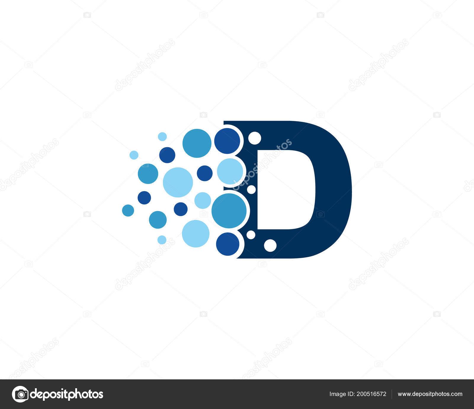 letter pixel icon logo design element ストックベクター
