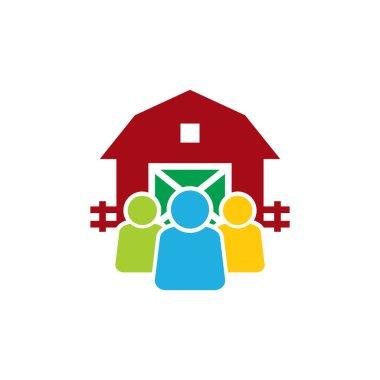 Farm Group Logo Icon Design