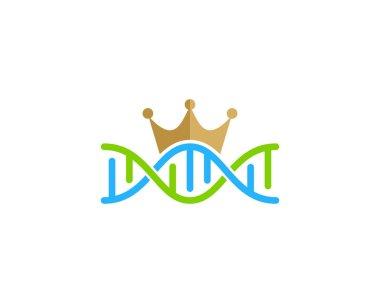 King Dna Logo Icon Design