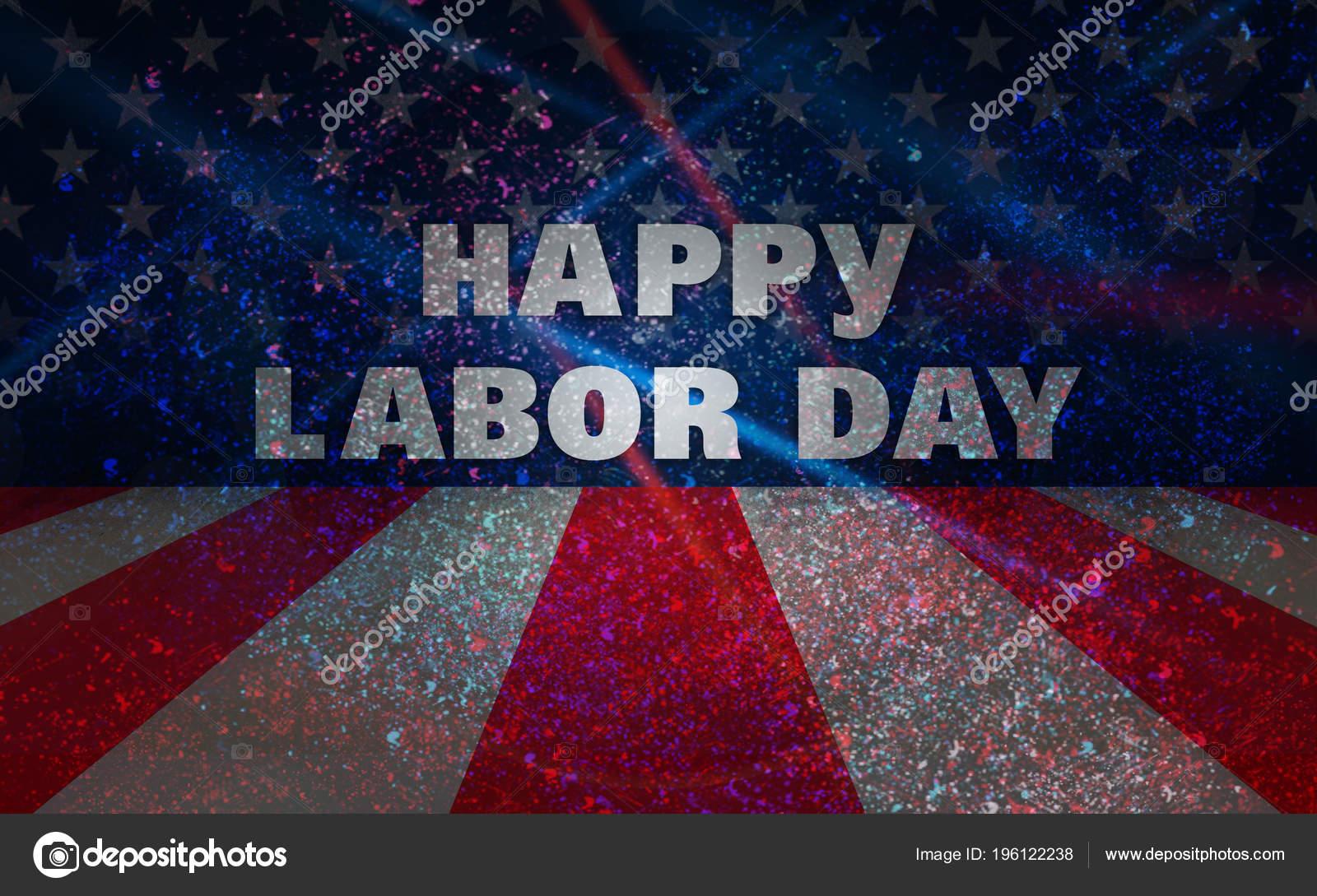 Labor Day National Holiday Usa United States Holidays Stock Photo