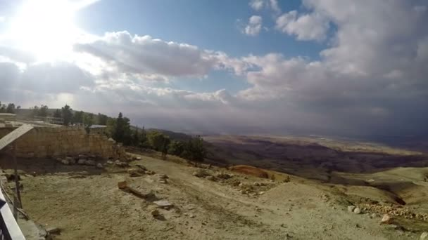 View from Mount Nebo, mentioned in Hebrew Bible as place where Moses was  granted view of Promised Land
