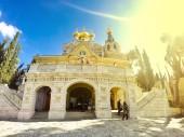 Fotografie Marie Magdalena klášterní kostel v Jeruzalémě, Izrael