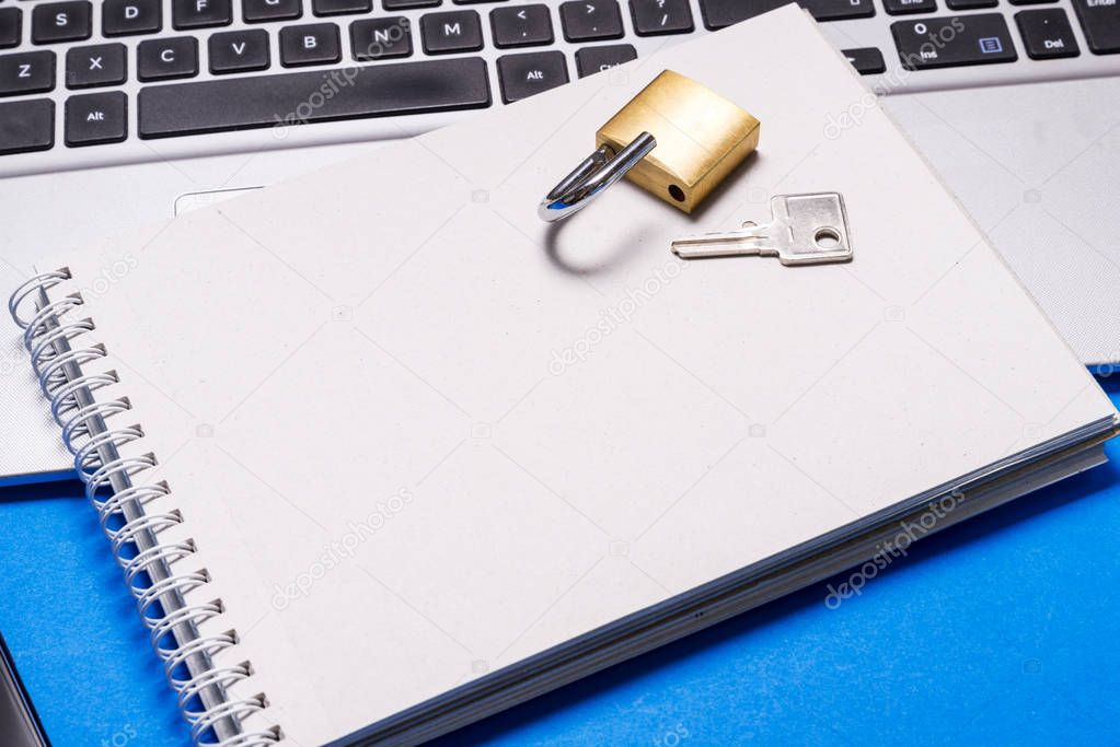 Notebook with General Data Protection Regulation