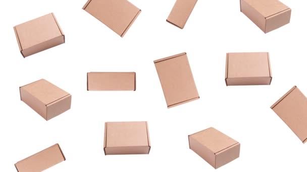 Kartondobozban animált dobozok
