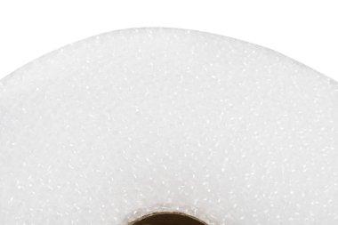 roll of plastic bubble film