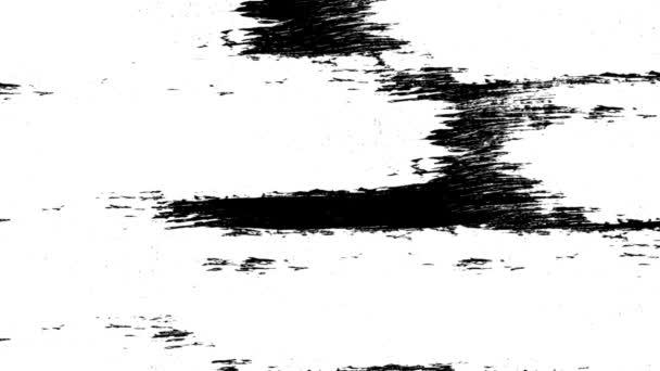 Fekete-fehér ecset fekete-fehérben átmenet