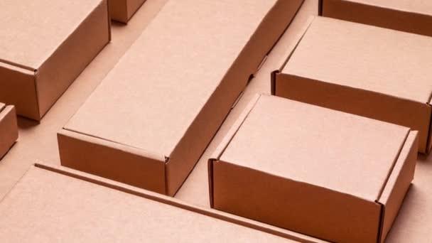 Kartondobozok patternanimated Motion grafikai