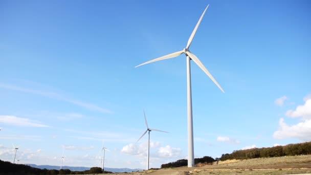 moderní větrné turbíny generování udržitelné energie