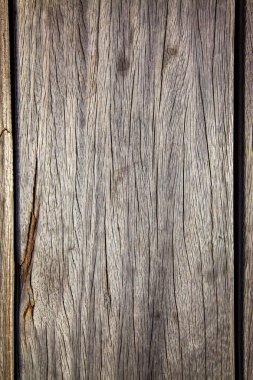 Full frame of empty wooden background stock vector