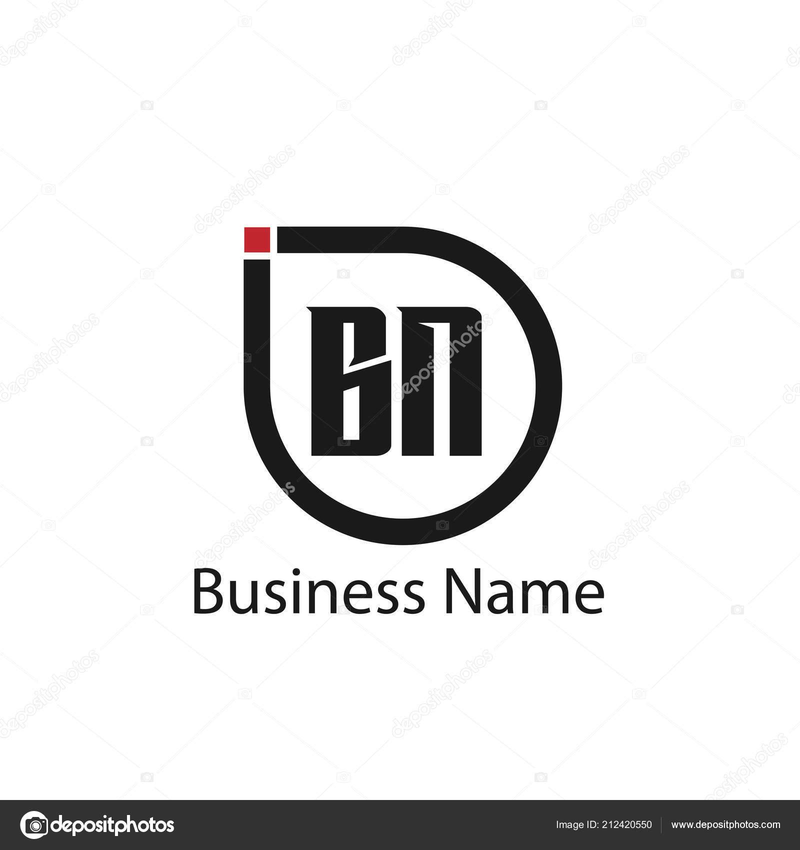 頭文字 のロゴのテンプレートのデザイン ストックベクター mohammad