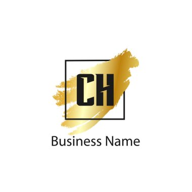 Initial Letter CH Logo Template Design