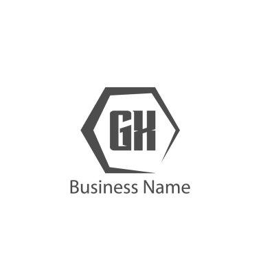 Initial Letter GX Logo Template Design