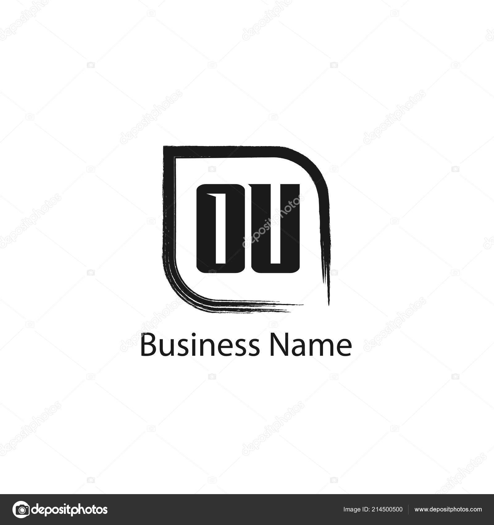 initial letter logo template design stock vector mohammad