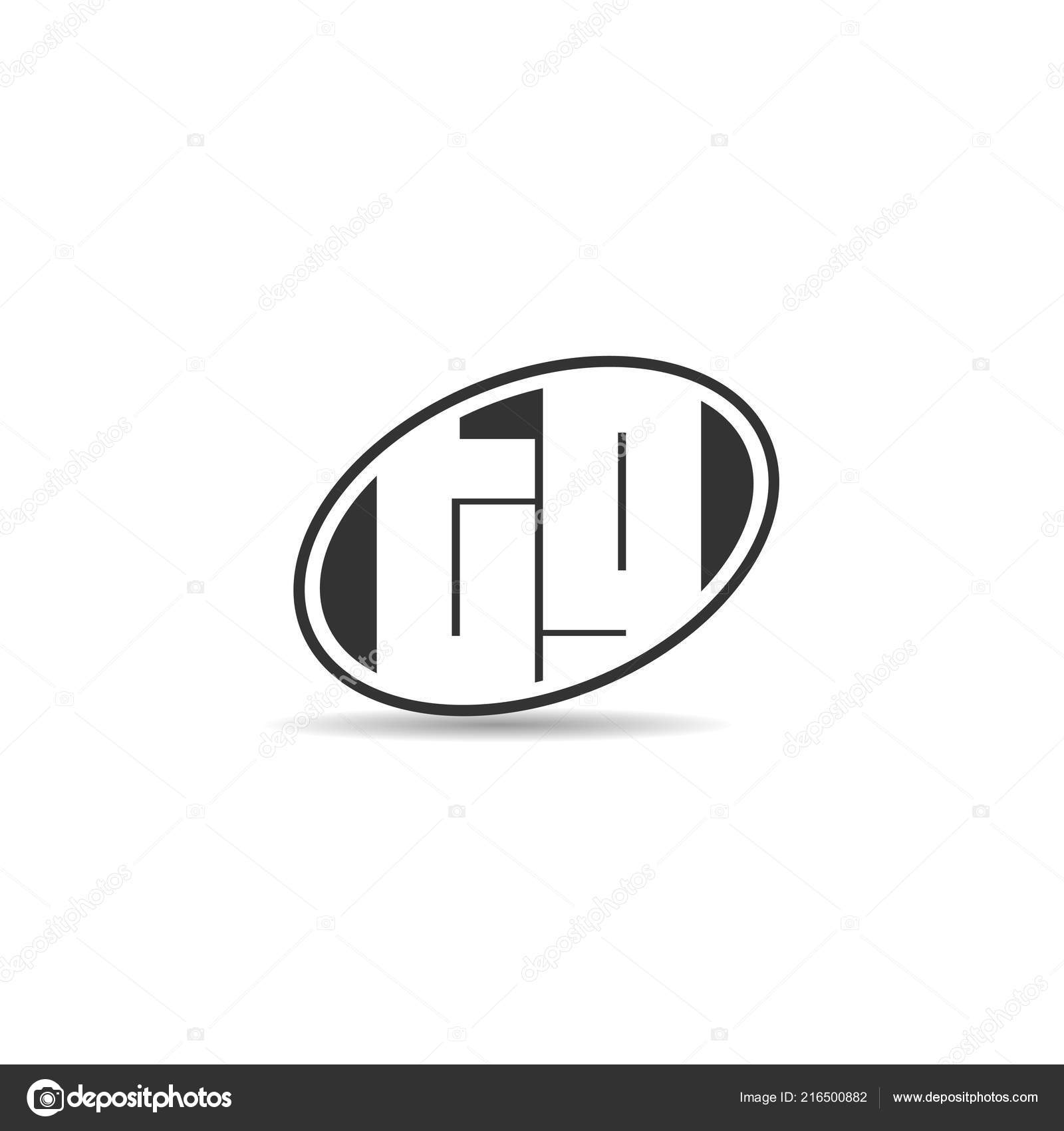 Initial Letter Logo Template Design Stock Vector