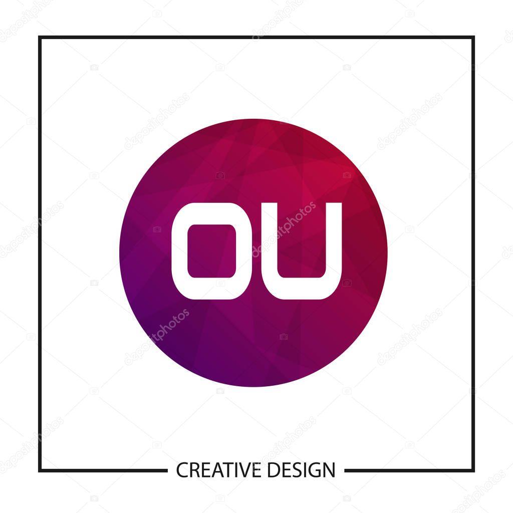 Initial Letter Ou Logo Template Design Vector Illustration Premium Vector In Adobe Illustrator Ai Ai Format Encapsulated Postscript Eps Eps Format