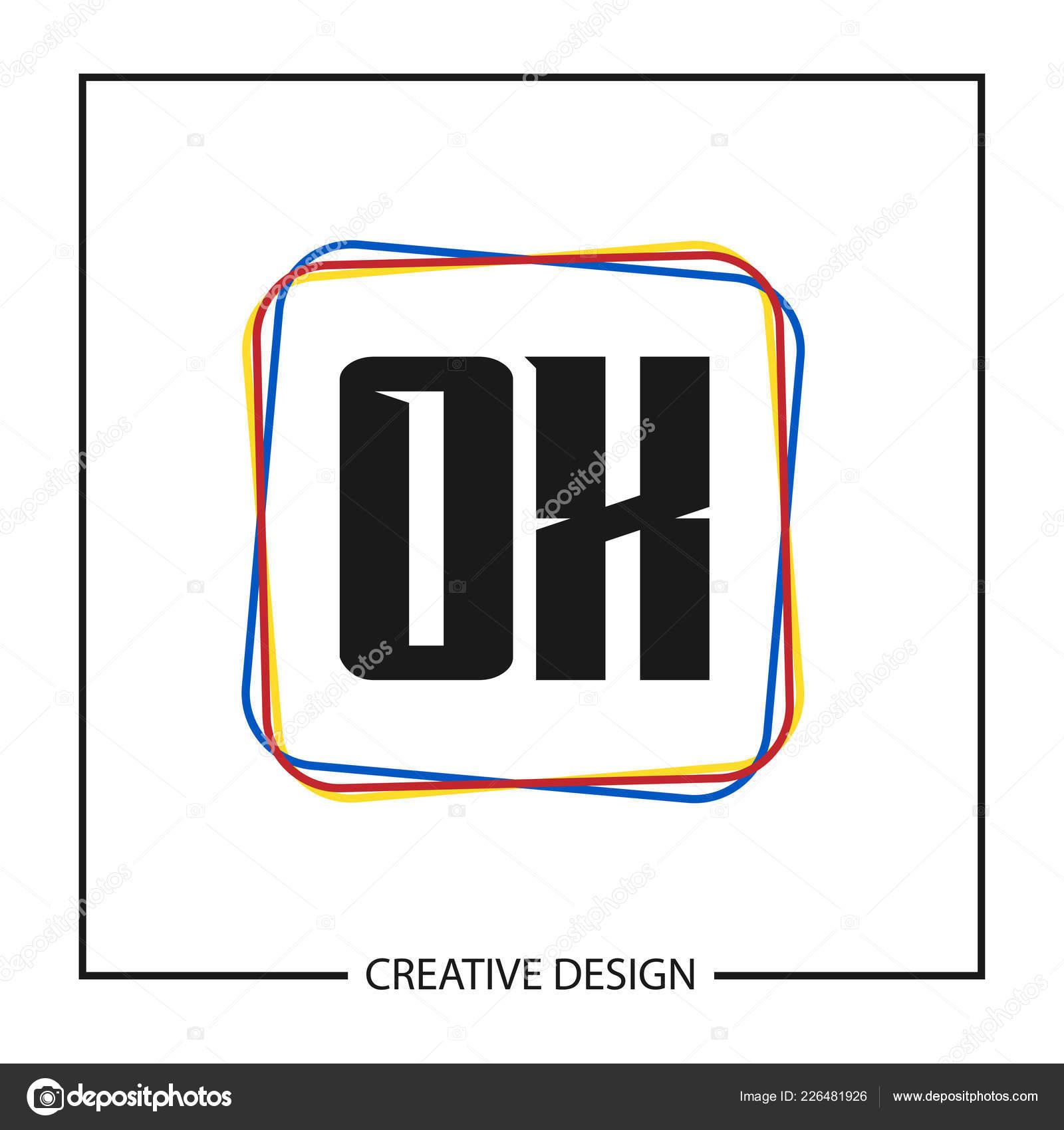 Initiale Lettre Logo Template Design Image Vectorielle