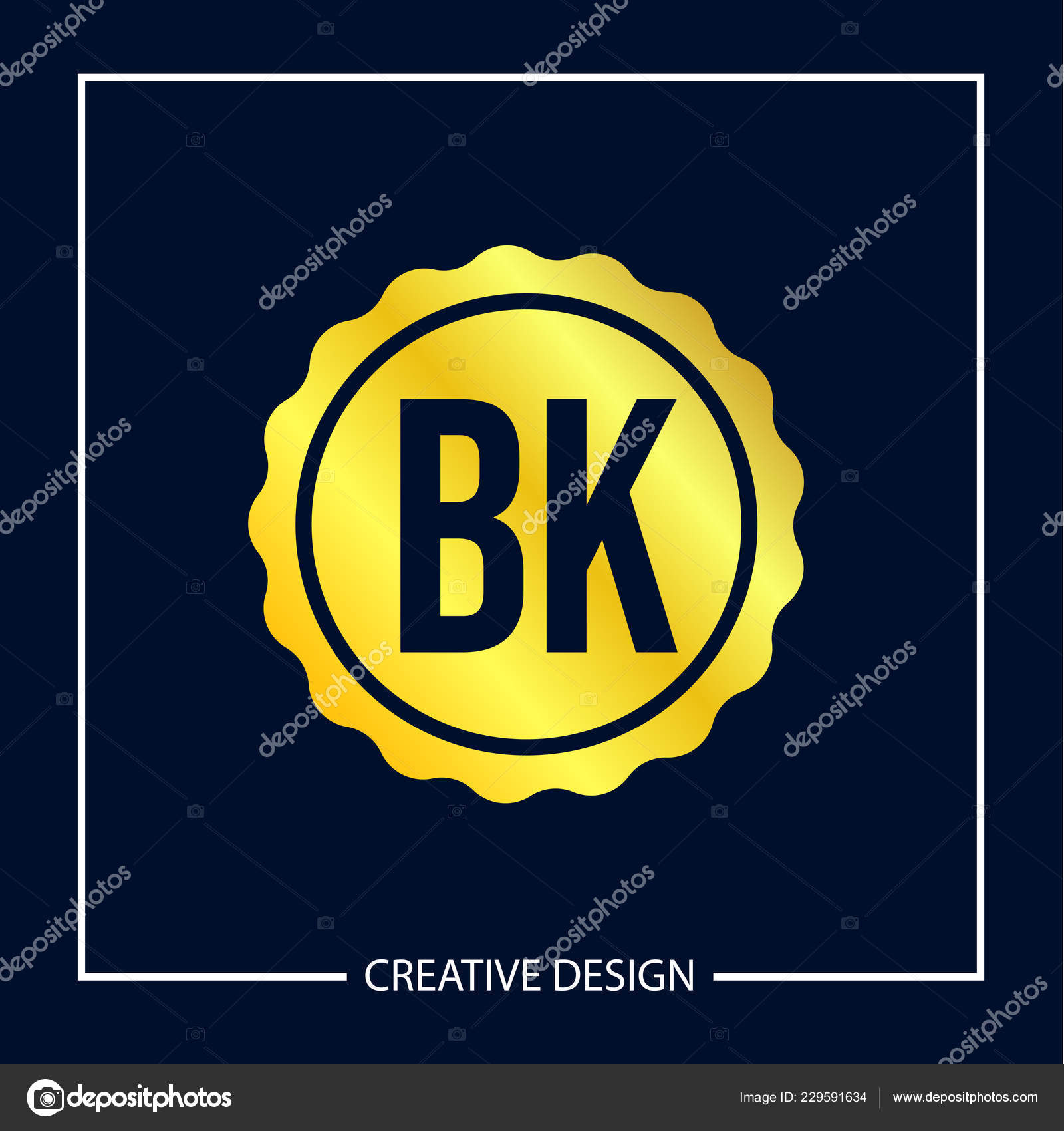 Initial Letter Logo Template Design Vector Illustration