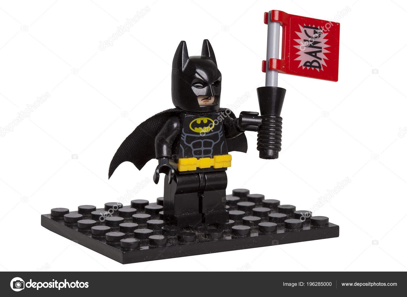 Kiev Ucrania Mayo 2018 Lego Figura Retrata Héroe Los Dibujos Foto