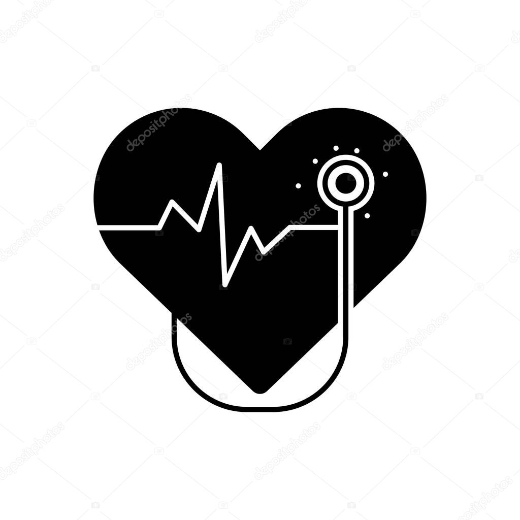 Solid Black Icon For Cardiology Surgery Premium Vector In Adobe Illustrator Ai Ai Format Encapsulated Postscript Eps Eps Format