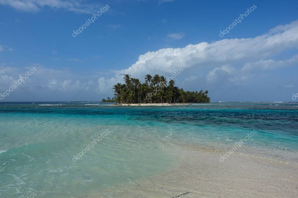 A DREAMY WORLD SAN BLAS, PANAMA Sometimes all you need is to be the only one in paradise; warm white sand tickling your feet, sun high and bright in the sky, Caribbean wind whispering its tales and cristal blue water bursting with life...