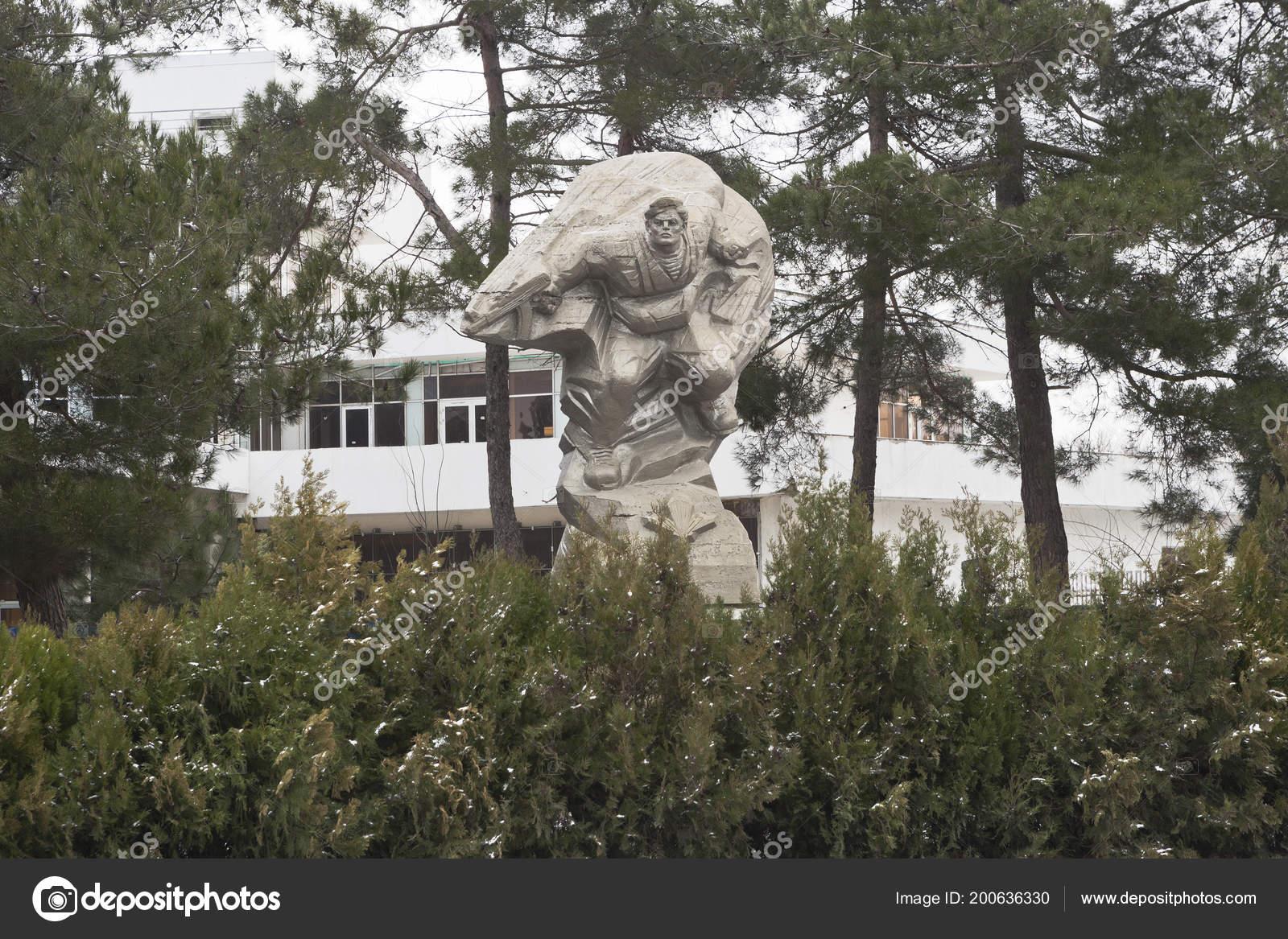 Anapa Krasnodar Region Russia March 2018 Monument