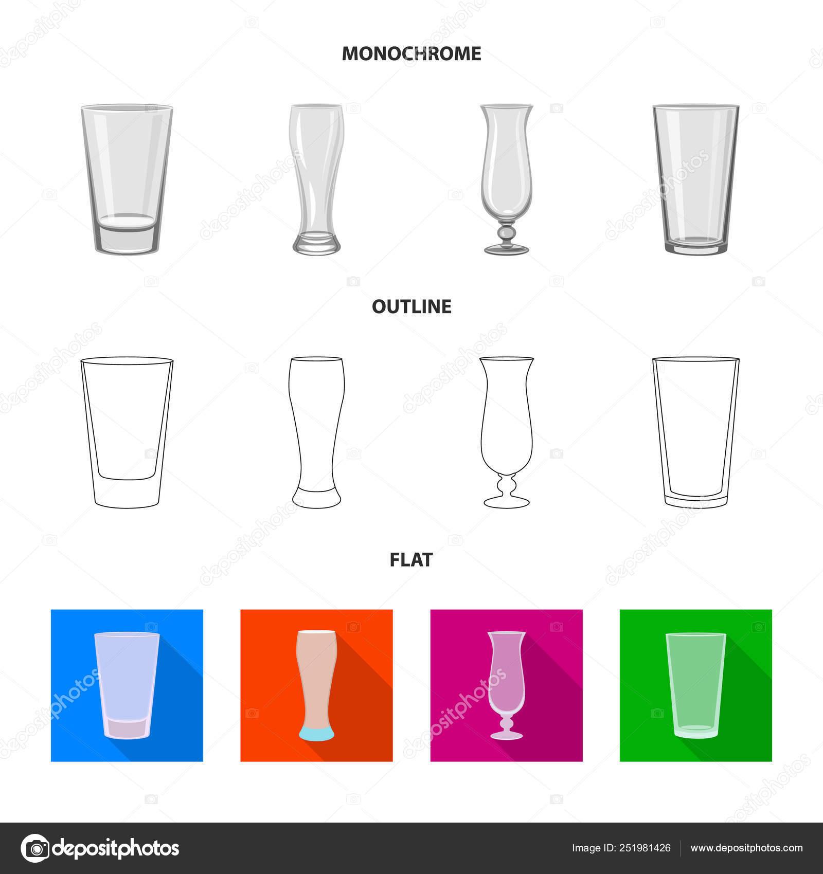 Vector illustration of form and celebration logo  Set of form and