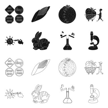 """Картина, постер, плакат, фотообои """"изолированный объект тестового и синтетического символов. собрание тестовых и лабораторных векторных иллюстраций ."""", артикул 271875772"""