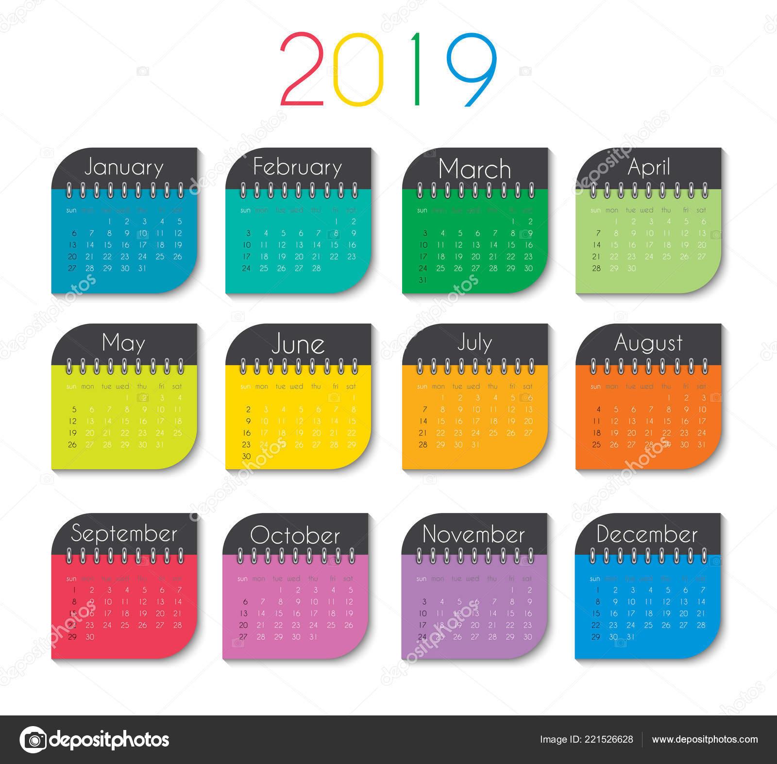 keyboard calendar template download