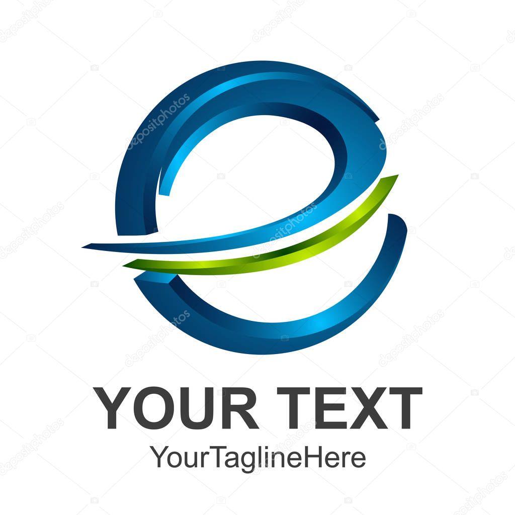 3d abstract Letter e logo design template elements. abstract letter e. Business corporate letter e logo design vector.