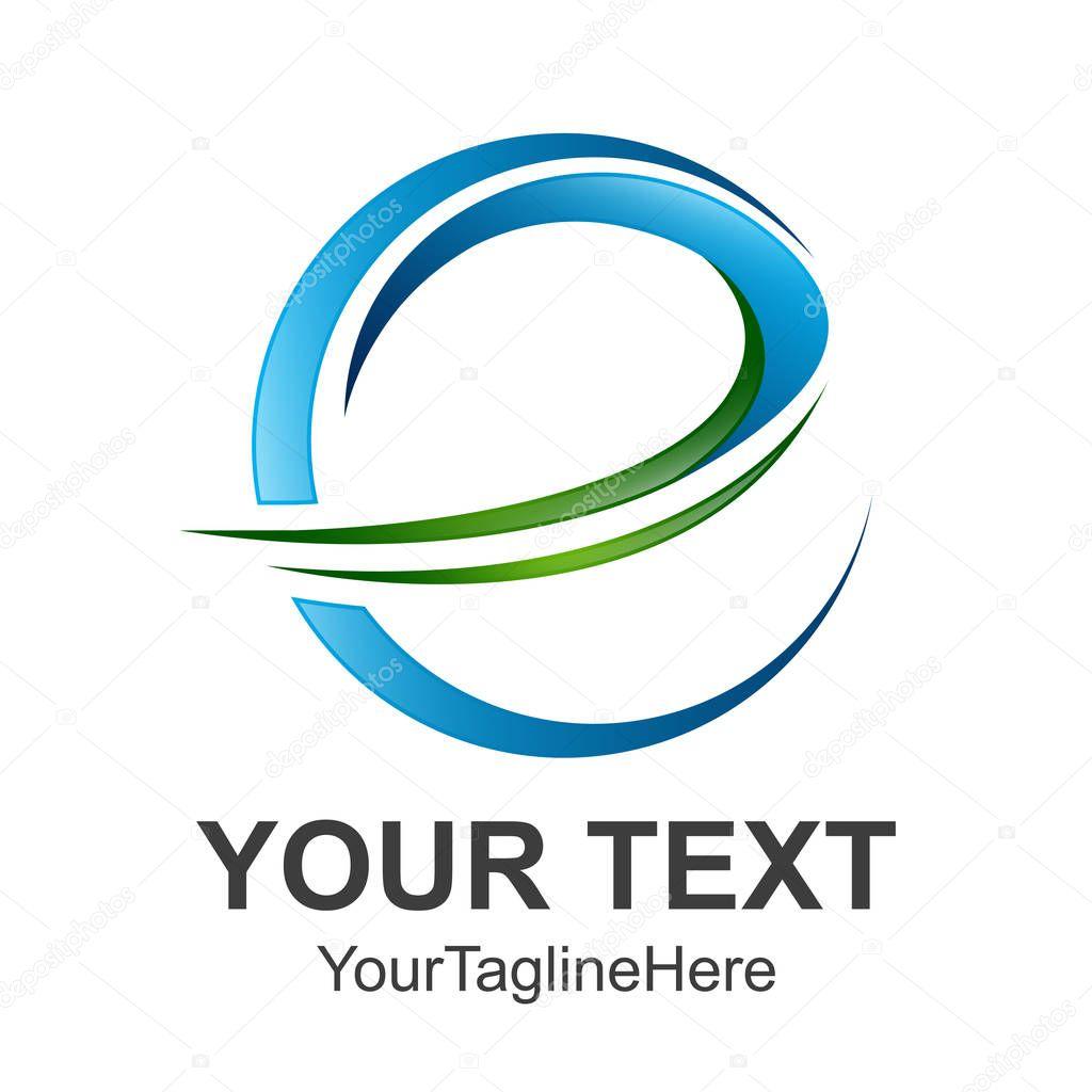 Abstract Letter e logo design template elements. abstract letter e. Business corporate letter e logo design vector.