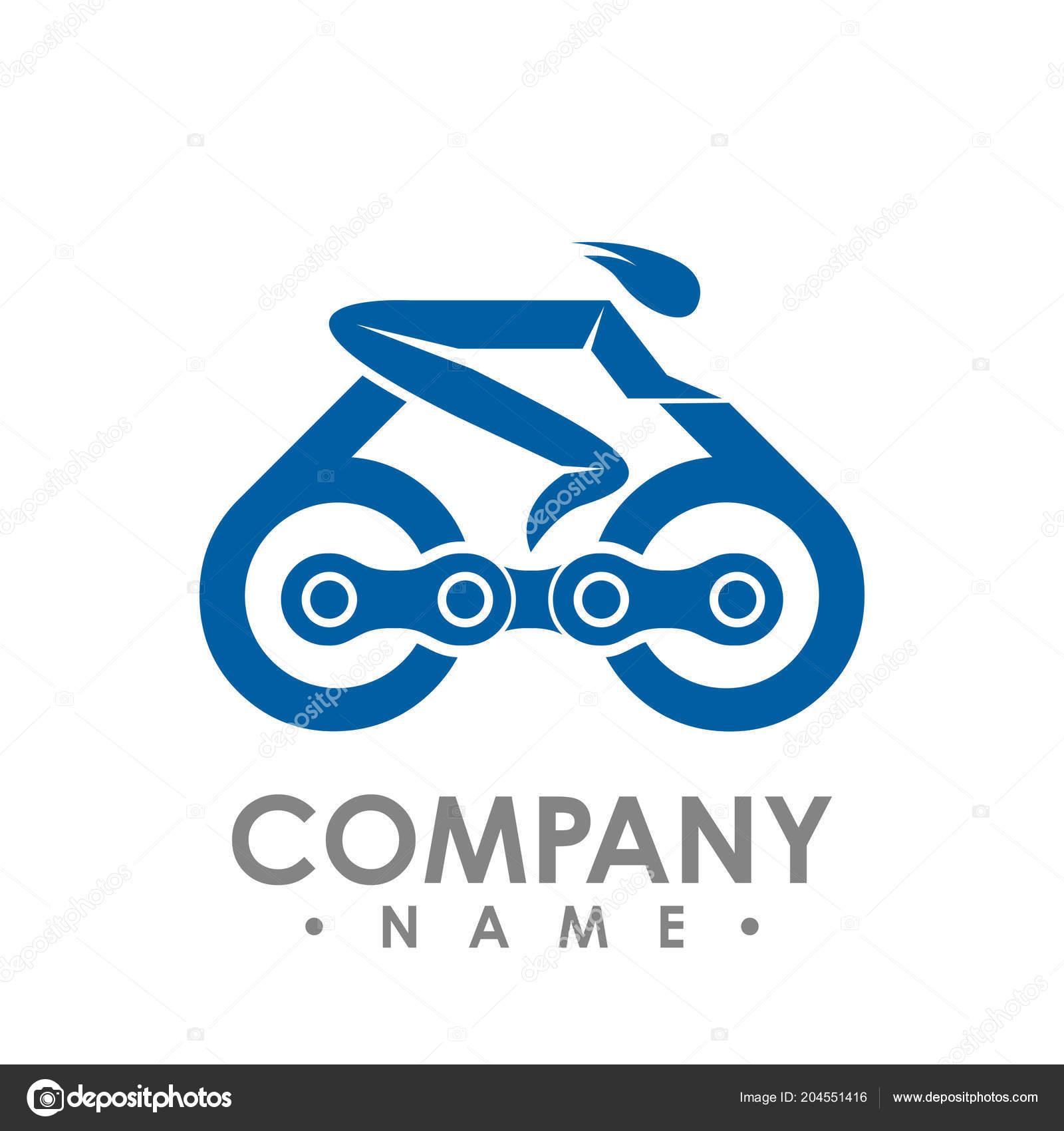Bici Catena Illustrazione Vettore Del Profilo Icona Della Gara Bici