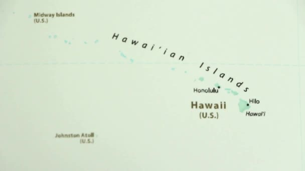 Midway On World Map.Hawaii Political Map World Video Defocuses Showing Hiding Map