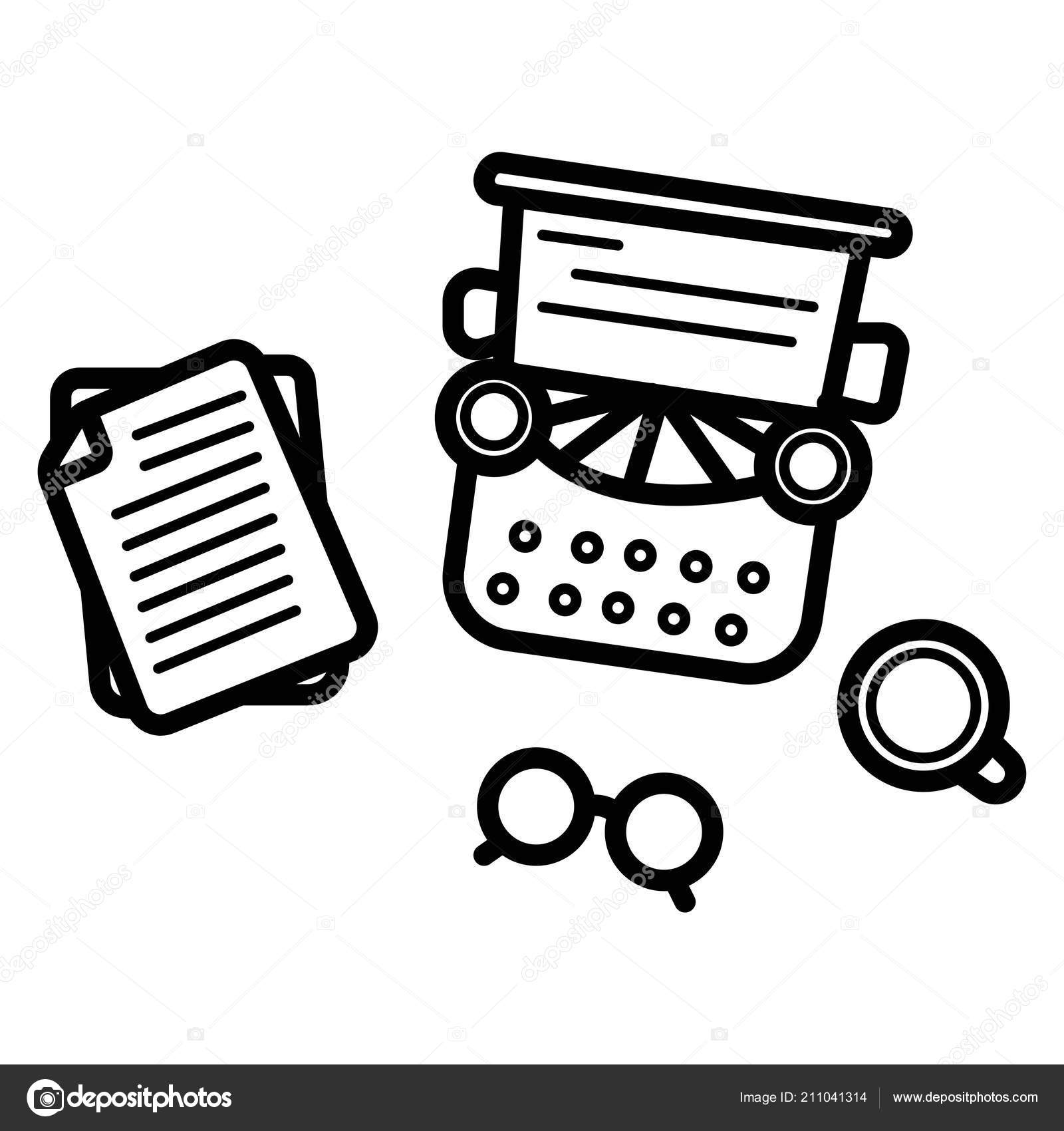 writer icon vector illustration stock vector secon 211041314 Copy Machine Icon writer icon vector illustration stock vector
