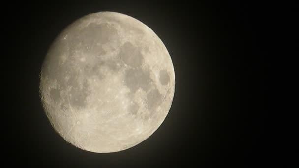 sněť měsíc světle Černá obloha