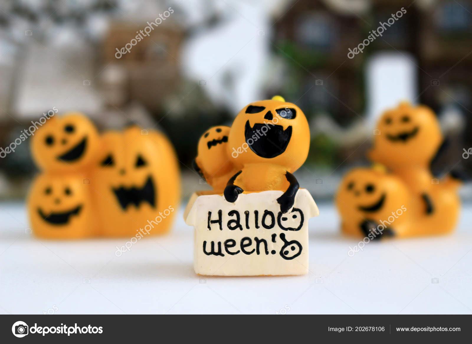 Stilleven van decoratie die beeld van halloween u stockfoto