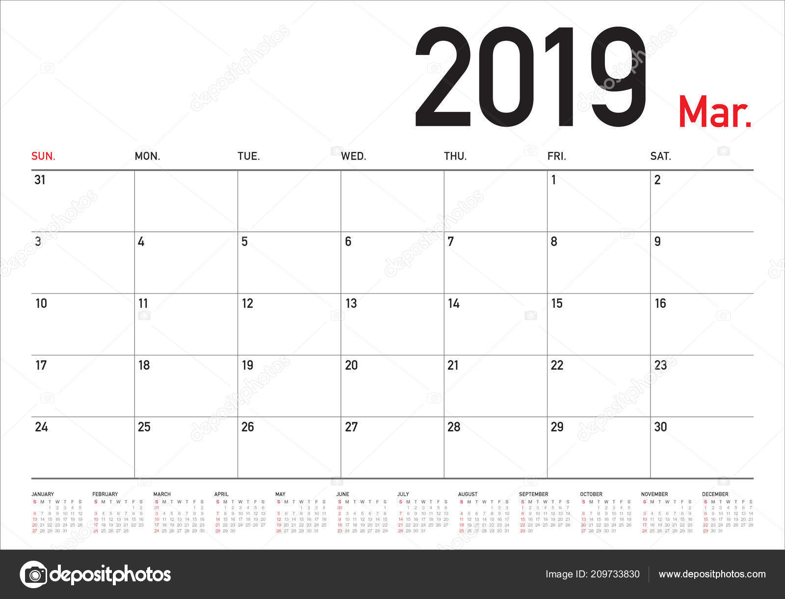 Calendario Di Marzo.Foto Calendario Vector Illustration Illustrazione